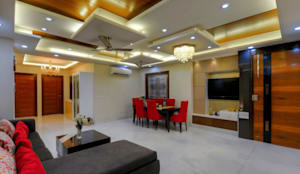 Living Room: modern Living room by shritee ashish & associates