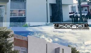 Casas de estilo moderno por Zona Arquitectura Más Ingeniería