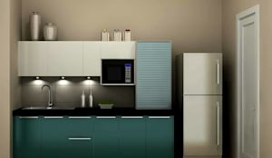 Kitchen :  Kitchen by Golden Spiral Productionz (p) ltd