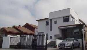 DISEÑO VIVIENDA MAC 220: Casas unifamiliares de estilo  por Territorio Arquitectura y Construccion