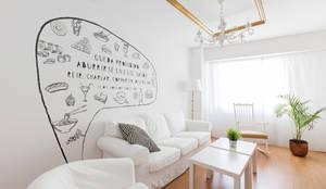 Salón: Salones de estilo moderno de Imaisdé Design Studio
