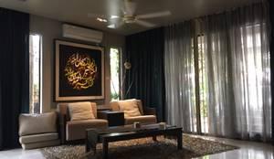 Interior Renovation: modern Living room by LI A'ALAF ARCHITECT