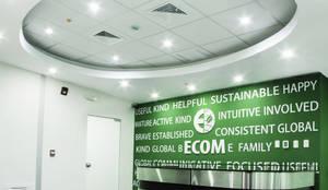 Oficinas de estilo  por  Grupo Arquitectónico
