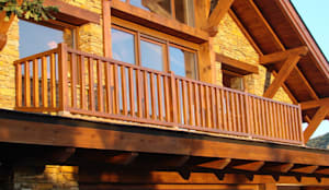Casa del lago por Manuel Monroy: Casas de estilo  de Manuel Monroy, arquitecto