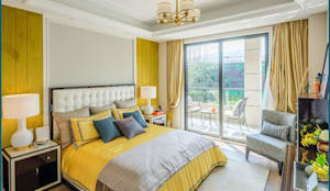 Bedroom Design Ideas: modern Bedroom by DHARMA INTERIOR PVT LTD™