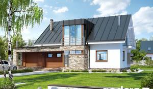 Casa prefabbricata Alessandra: Casa prefabbricata  in stile  di Domus Green
