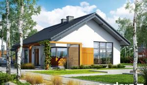 Casa prefabbricata Mcintosh: Casa prefabbricata  in stile  di Domus Green