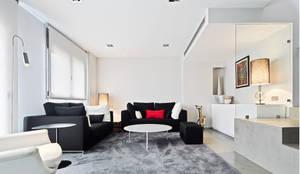 Salón: Salones de estilo moderno de JSV-Architecture