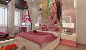 kids bedrooms: modern Bedroom by Design Essentials