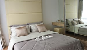 Apartemen Landmark - Tipe Studio:  Kamar Tidur by POWL Studio
