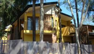 Casa LF - Exterior 10: Casas de estilo moderno por Módulo 3 arquitectura