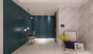 京城如意林宅 -- 現代古典風:  走廊 & 玄關 by Moooi Design 驀翊設計