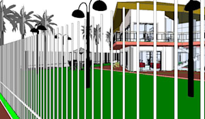 Vivienda Familiar Crédito PROCREAR: Casas unifamiliares de estilo  por Arq.SusanaCruz