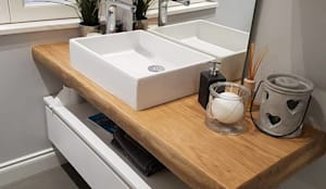Progetti vari: Bagno in stile in stile Moderno di new life HOME