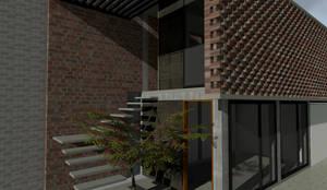 Casas unifamiliares de estilo  por Designo Arquitectos