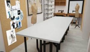 Diseño de Taller de Moda: Estudios y oficinas de estilo  por UOTAN Studio