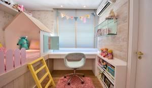 Dormitório de Menina Lúdico: Quarto infantil  por BG arquitetura