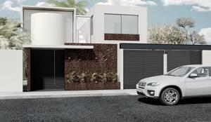 Temozón Norte: Casas de estilo  por Heftye Arquitectura