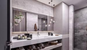 ANTE MİMARLIK  – Banyo aksesuarları:  tarz Banyo,