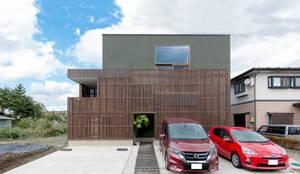 株式会社建築工房DADA의  목조 주택