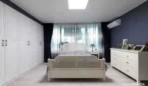 정자동 한솔마을 49평 : 디자인담다의  침실