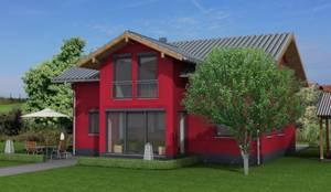 Perspektive:  Landhaus von HAUSBAU Berater + Betreuer Hans-Arnold Küfner