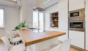 Don Bosco minimal design: Cucina in stile  di EF_Archidesign