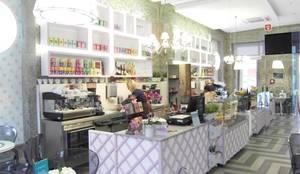 Salão de chá: Espaços de restauração  por AtelierAtelier