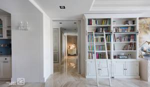 走廊與隔間:  書房/辦公室 by 禾廊室內設計