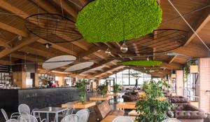 La componente industriale: Bar & Club in stile  di AbitoVerde