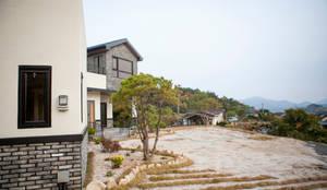 도화리주택: 8sky design의  소형 주택