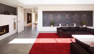 EFH in Fürstenfeldbruck:  Wohnzimmer von WSM ARCHITEKTEN