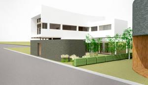 외관: 건축사사무소 모뉴멘타의  주택