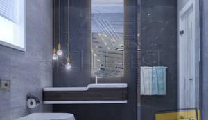 مشروع فيلا القاهره الجديدة:  حمام تنفيذ Archeffect