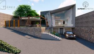 panoramico: Casas de estilo  por GóMEZ arquitectos