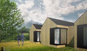 VILLAHOUSE - madeira: Casas pré-fabricadas  por Atelier 72 - Arquitetura, Lda
