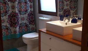 Muebles de Baño por SIMPLEMENTE AMBIENTE: Baños de estilo  por SIMPLEMENTE AMBIENTE mobiliarios