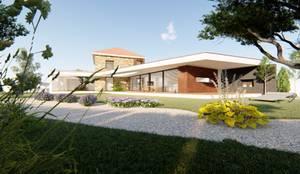 Casa Ferreira e Lourenço: Moradias  por Jesus Correia Arquitecto