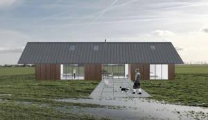 Barn in Spierdijk:  Eengezinswoning door Kevin Veenhuizen Architects