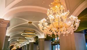 Projekty,  Hotele zaprojektowane przez MULTIFORME® lighting