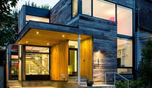 CASAS ESTRUCTURA DE FIERRO: Casas de estilo  por Casas Green Planet