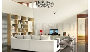 Ruang Keluarga :  Ruang Keluarga by Inspace Studio