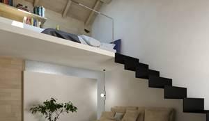 il soggiorno della suite: Soggiorno in stile  di Ing. Massimiliano Lusetti