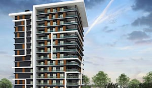 Mimayris Proje ve Yapı Ltd. Şti. – Dikkat çeken tasarım:  tarz Apartman