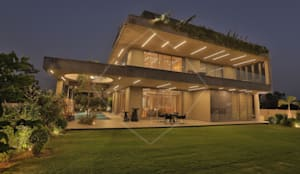 """WRAPED"" ARCHITECTURE -:  Bungalows by SPACCE INTERIORS"