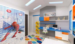 Interior Design of Residential :  Baby room by Maruthi Interio