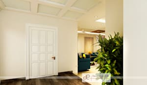 Entrance foyer view-1:  Doors by Design Essentials