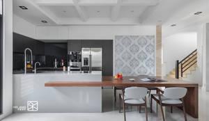 餐廳:  餐廳 by 禾廊室內設計, 古典風