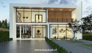 Desain Fasad:  Rumah tinggal  by PT. Leeyaqat Karya Pratama