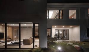 誠泰大院_框景之家:  庭院 by 形構設計 Morpho-Design